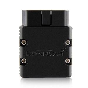 Image 4 - KONNWEI Elm327 V1.5 Bluetooth KW902 OBD2 Elm 327 V 1,5 OBD 2 diagnóstico del automóvil herramienta escáner V1.5 Chip PIC18F25K80 ELM327 en Android