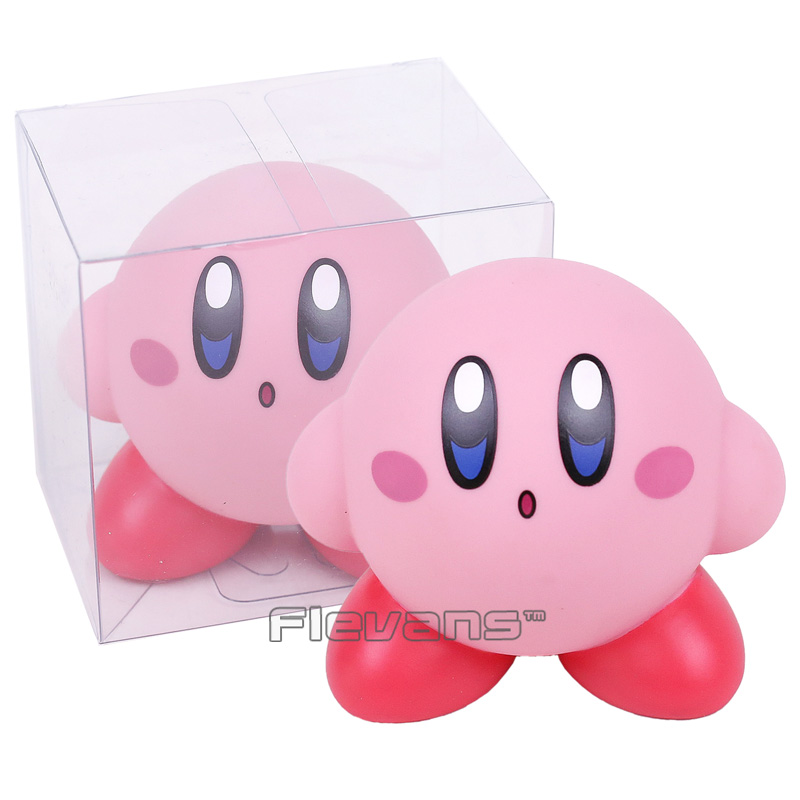 Cute Kirby Popopo PVC Action Figure Collectible Model Toy Gift 8cm 2 Types neca planet of the apes gorilla soldier pvc action figure collectible toy 8 20cm
