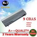 WHOLESALE New 9 CELLS Laptop Battery For Dell Latitude  E6400 E6410 E6500 E6510 PT434 PT435 PT436 PT437 Free shipping