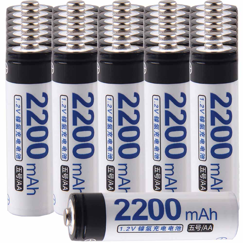 Lowest price 36 piece AA battery 1.2v batteries rechargeable 2200mAh nimh battery for power tools akkumulatorLowest price 36 piece AA battery 1.2v batteries rechargeable 2200mAh nimh battery for power tools akkumulator
