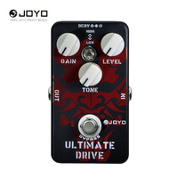 JOYO JF 02 Ultimate Drive Electric Guitar Effect Pedal With True Bypass Guitar Accessory