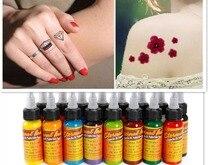 1 Bottle 1oz black Tattoo Ink Pigment Set Kits Body Arts 30ml black Professinal Beauty Permanent Makesup Paints Accesories
