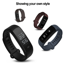 Zeblaze Plug Smart Wristband Continuous Heart Rate Monitor Long Battery Life & Quick Recharge Fitness Tracker Smart Bracelet