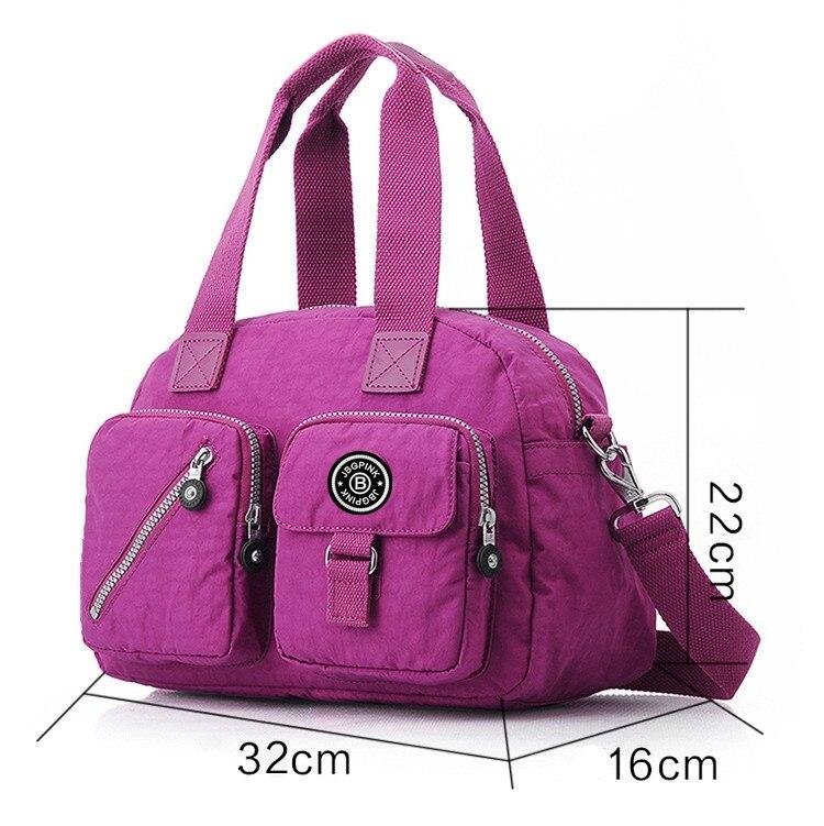 +monkry keychain Women Handbag Nylon Messenger Shoulder Bag Multi-function large capacity Handbags bolsas femininas kiple