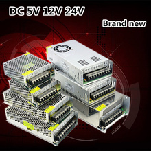 3 года гарантии Освещение трансформатора постоянного тока 5В 12В 24В Адаптер питания 2А 3А 5А 8А 10А