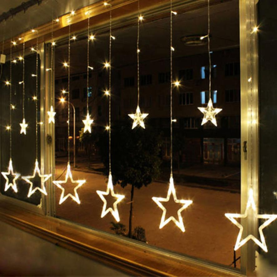 Arrival Warm White 12 Twinkling Stars Christmas Fairy String Lights Window  Display 48LED from Reliable display tower suppliers on