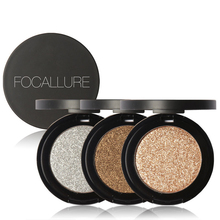 FOCALLURE Eyeshadow Makeup Matte Eye Shadow Palette Professional Single Color Makeup Glitter Eyeshadow Powder M03165
