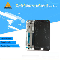 Axisinternational LCD Screen Display Touch Panel Digitizer With Frame For 5 5 Meizu MX4 Pro White