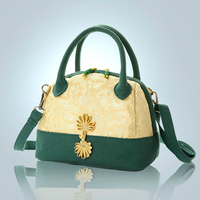 Women Vintage Embroidered Bag Woman Canvas Shoulder Bags Chinese Folk Wind Handbag For Female Luxury Brand