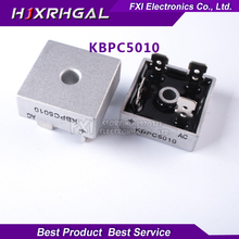 1 шт. KBPC5010 1000 В 50A диодный мост мостовой выпрямитель новые оригинальные Бесплатная доставка