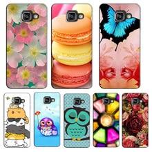 2017 новый мобильный телефон case для samsung galaxy a5 2016 животных окрашены оболочки для samsung galaxy a5 (6) A510F A510 мобильный телефон сумка