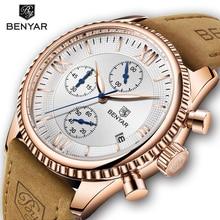 цены NEW BENYAR Watch Men Top Brand Luxury Men Watch Business Quartz Watches Waterproof Clock Relogio Masculino relojes para hombre