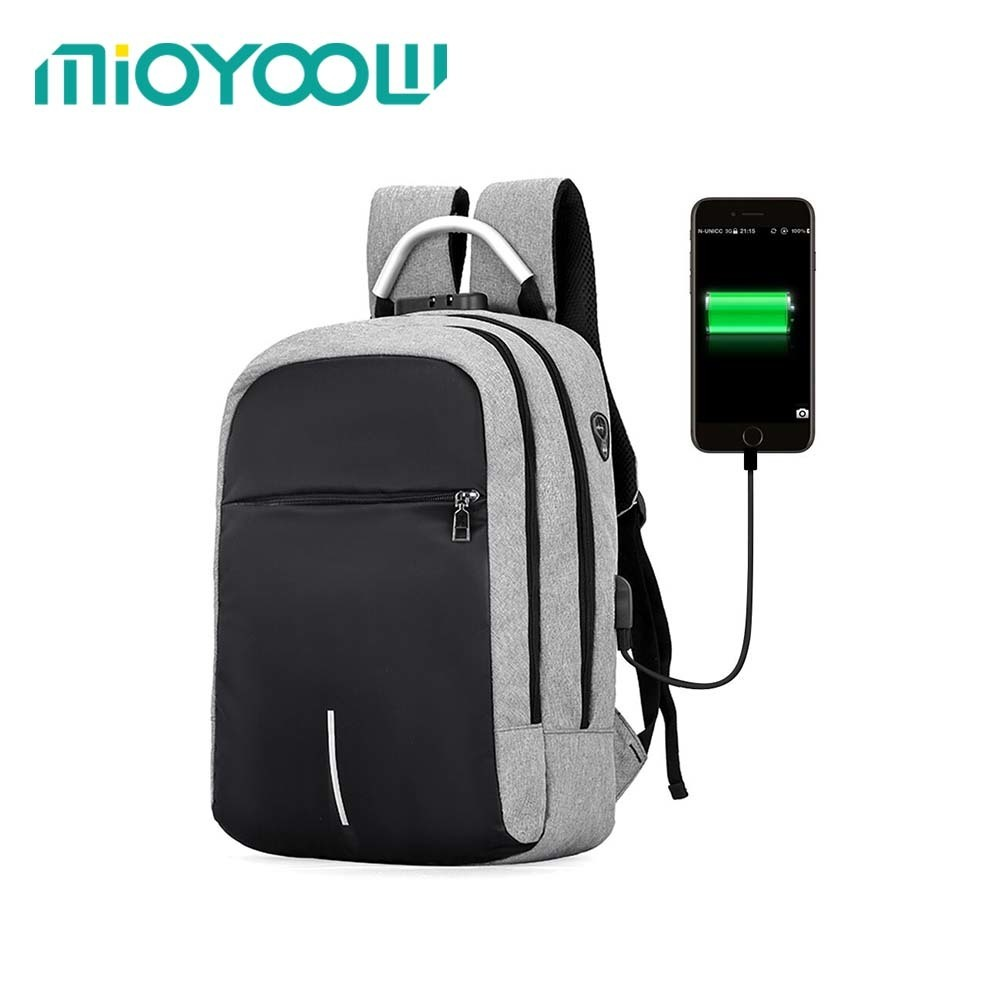 USB Charge Anti Theft Backpack For 15 Inch Laptop Men Women Backpack Fashion Travel Duffel School Bags Bagpack Sac A Dos Mochila