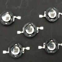 5 unids/lote 1W de alta potencia de diodo led de infrarrojos 850nm lámpara IR invisible cámara de vigilancia CCTV 60 grados o 120 grados