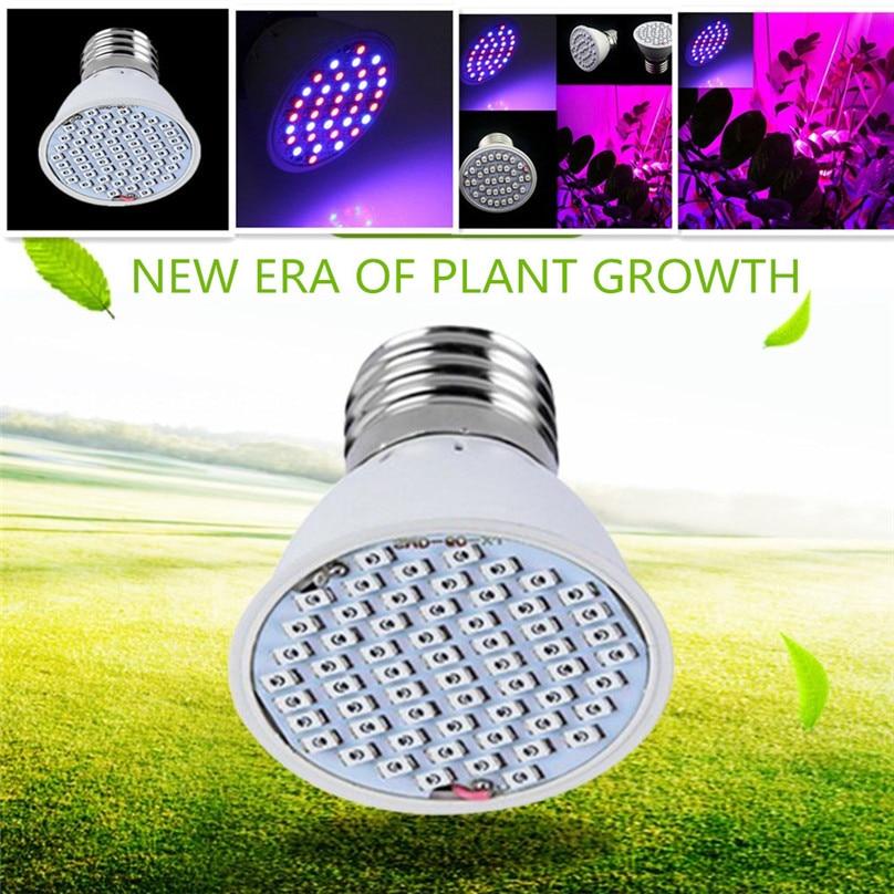 3W 36 LED Grow Light Veg Flower Indoor Plant Hydroponics Full Spectrum Lamp night light home bonsai plant light #3J18 (2)