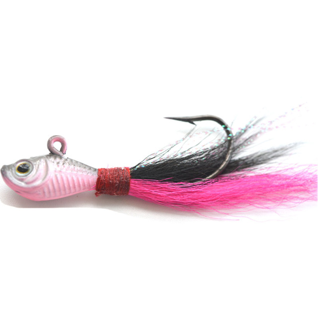 Fantastic 3d Eyes Bucktail Jig