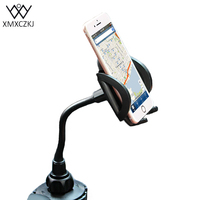 Phone Accessories Adjustable Car Phone Holder With Extended Cup Holders Mount Stand Universal For IPhone Samsung