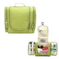 Klsyanyo Waterproof Women Makeup Bag Cosmetic Bag Men Toiletry Bag Travel Carry Case Travel Neceser Kit