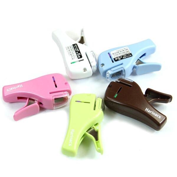 Creative Hot Mini Stapler Safe Staple Free Stapler Office