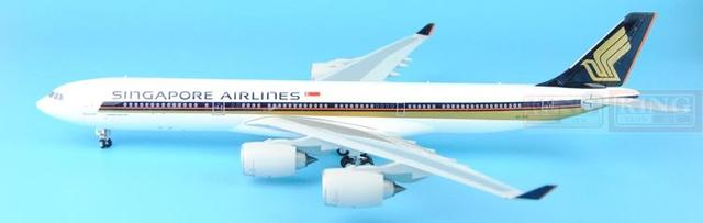 Eagle 100026 Singapore 9V-SGE Airlines 1:200 A340-500 commercial jetliners plane model hobby