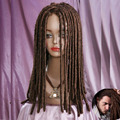 wholesale good Dreadlock African American Full Long Wavy Hair Drama Costume Dread Wig