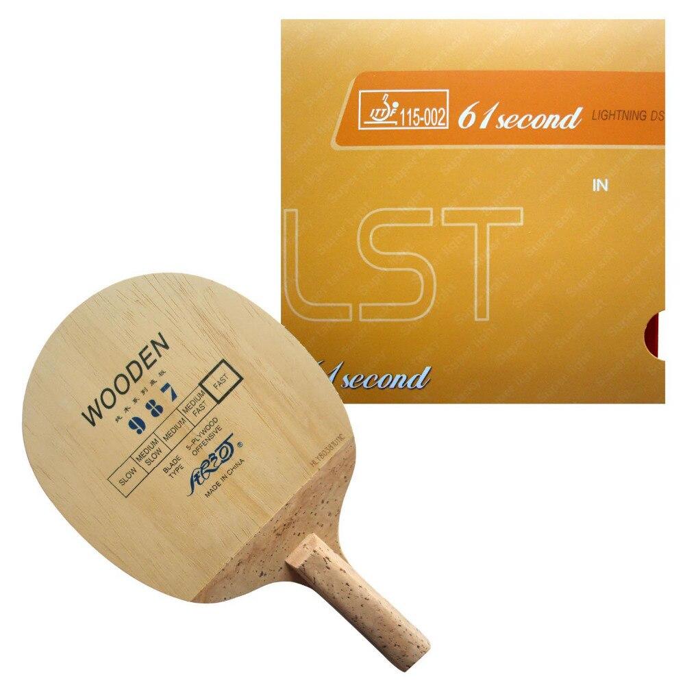 Originalni Galaxy 987 japonski rezilo za penis + 61sekunda strele DS LST guma za lopar za namizni tenis Japonski Penhold JS