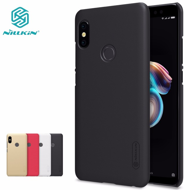 online store 0732d 470b3 US $7.57  xiaomi redmi note 5 Case redmi note 5 pro Global Version cover  NILLKIN Super Frosted Shield hard case-in Half-wrapped Case from Cellphones  & ...