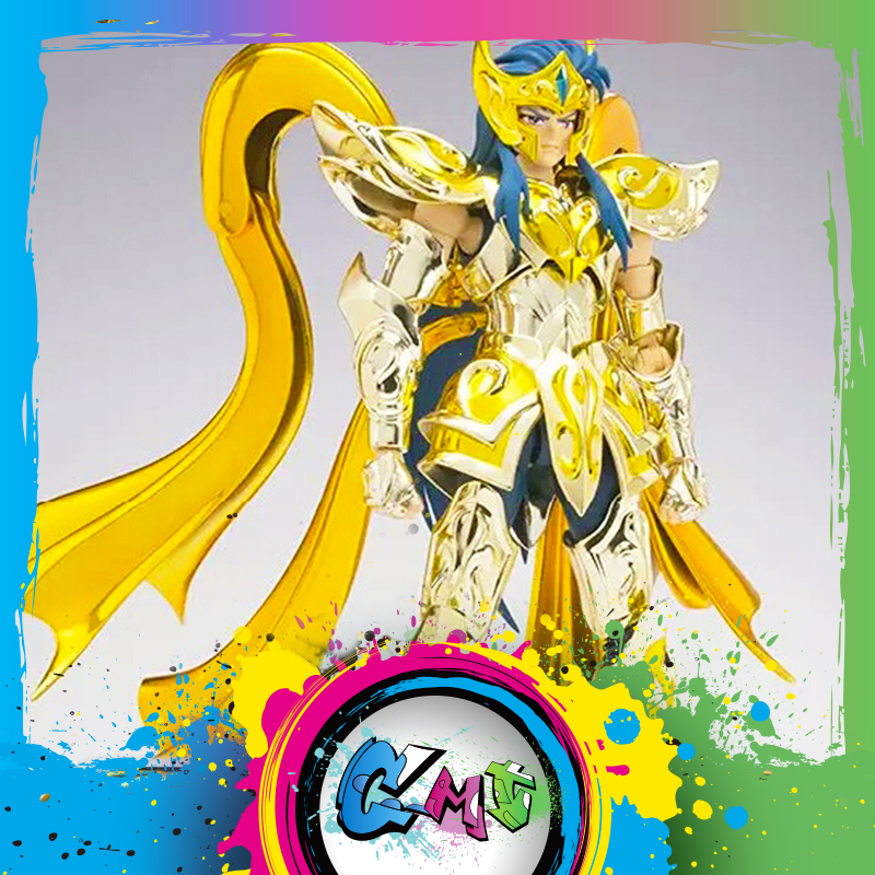 CMT In Magazzino Grande Giocattoli Dio Acquario EX Aquarius Camus God Cloth SOG Metal Armor GT EX Saint Seiya Myth panno Action Figure