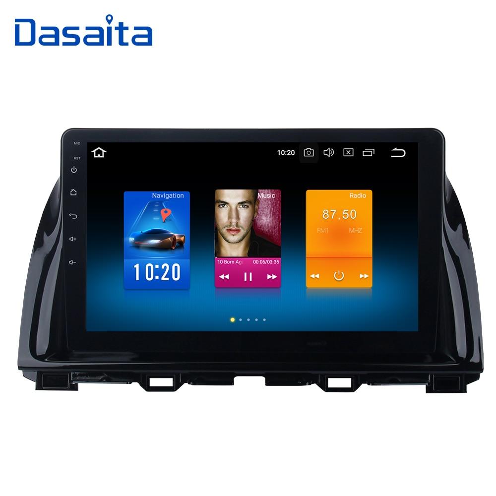 Dasaita 10.2 Android 8.0 Car GPS Radio Player for Mazda CX5 CX 5 2013 2014 2015 with Octa Core 4GB 32GB Auto Stereo Multimedia