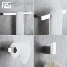 цена Bath Hardware Sets Nickel Brushed 304 Stainless Steel Next Bathroom Accessories Set Single Towel Bar, Cloth Hook, Paper Holder онлайн в 2017 году