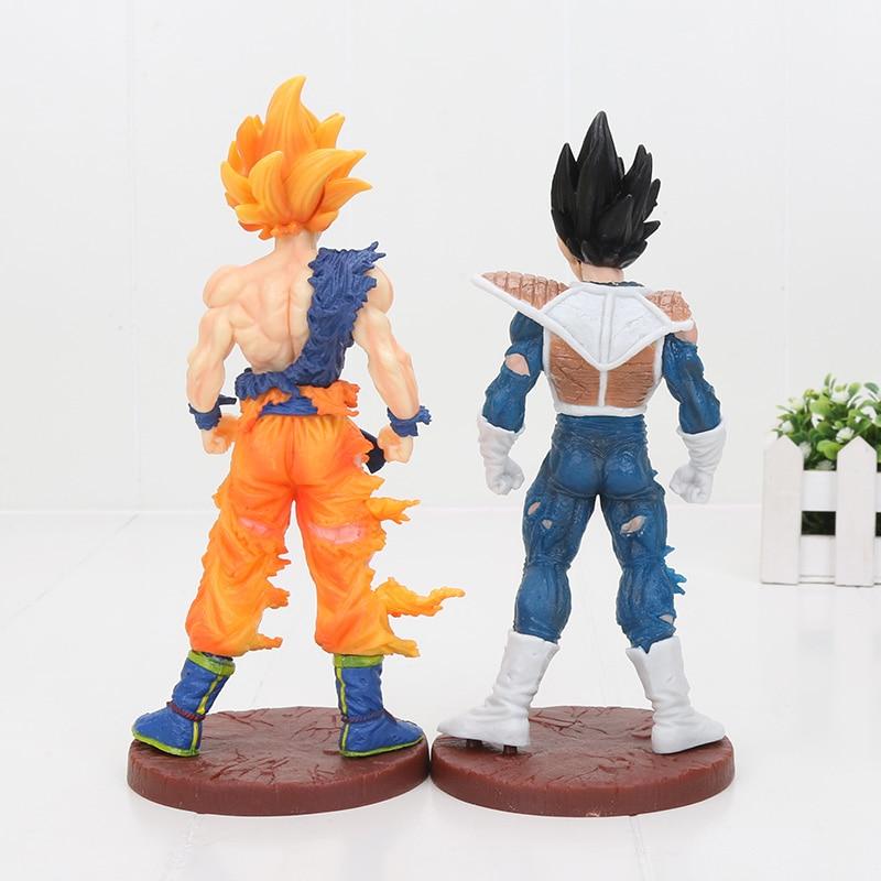 Toys & Hobbies 20cm Anime Dragon Ball Kai Figure Super Saiyan Son Goku Action Figure Dbz Pvc Collectible Model Doll Toys
