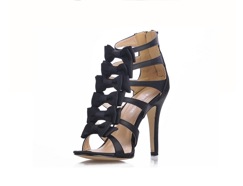 black satin women bowtie high heels sandals gladiator summer ankle booties elegant ladies cool boots party wedding dress shoes cootelili real fur ankle strap gladiator sandals women flats 2017 summer tassel shoes ladies wedding beach sandals bohemian