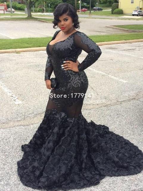 Plus Size Sequin Prom Dress – Fashion dresses