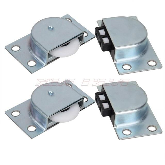 2 Pairs Of Closet Sliding Door Roller Closet Door Pulley Stainless