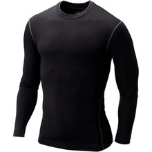 Men Breathable Long sleeve T Shirt Quick Dry Slim Fitness Shirts Tops & Tees Workout Shirts Male sport Runing Gym shirt