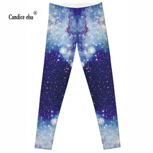 Wholesale Hot new Women Sexy Universe Galaxy Blue Printed Leggings Pants Elasticity Fashion Space Tie Dye Milk Silk S-XL zjl063 tie dye printed short sports leggings