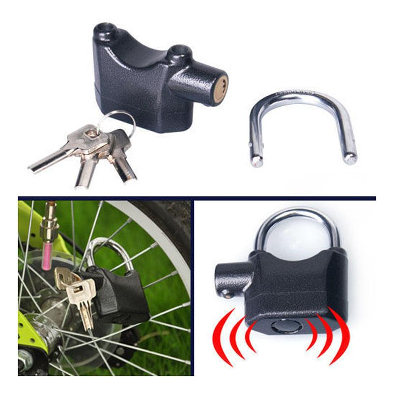 Bicycle Bike Alarm Lock Anti Losing Anti Thief Motion Sensor Monitor Padlock...