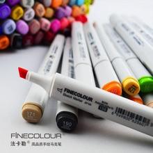 5pcs/lot High Quality Colored Pen Marker Pen Professional Drawing Pen Design Oblique Nip Art Major 240 Colors Optional Students