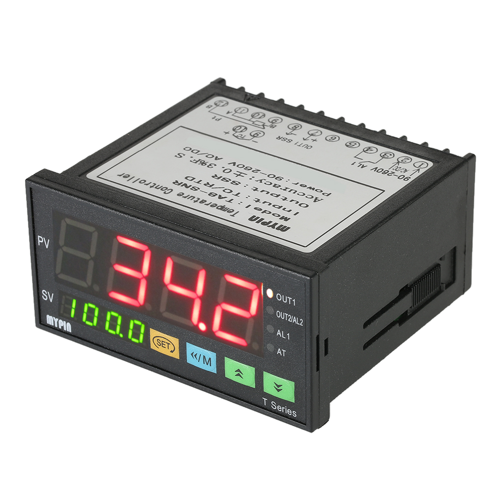 medium resolution of mypin thermometer intelligent thermal regulator temperature controller 4 digital thermostat pid control tc rtd input ssr output