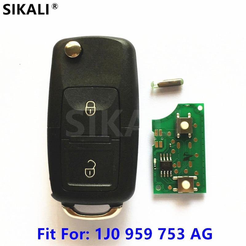 Car Remote Key for 1J0959753AG 5FA008399-00 Arosa Cordoba Ibiza Leon Toledo Vario 2002 2003 2004 2005 52006 2007 2008 2009