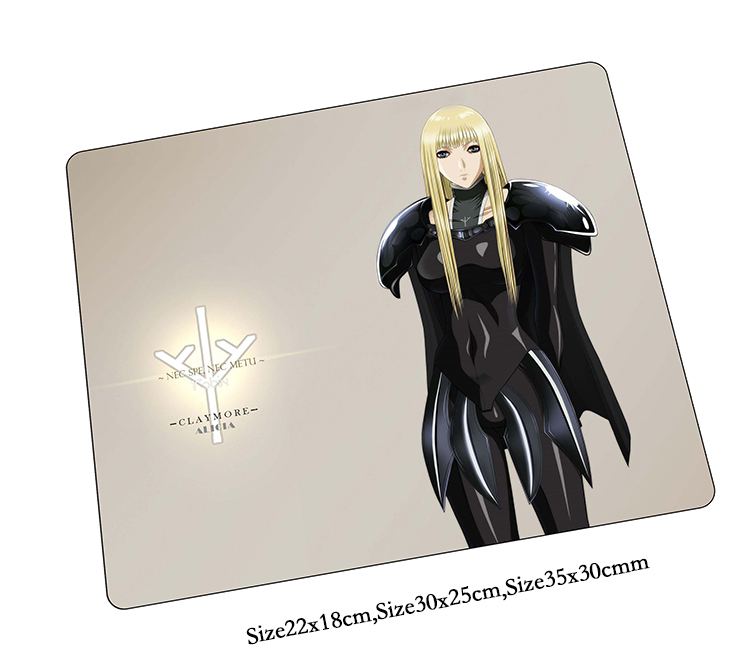claymore mouse pad Cartoon gaming mousepad gamer mouse mat pad game computer Aestheticism desk padmouse laptop keyboard play mat