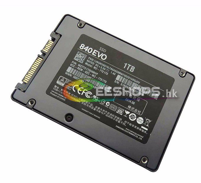 Genuine for SAMSUNG 840 EVO 2.5 1TB 1 TB SSD SATA 3 MLC 2.5 Inch Laptop Internal Solid State Hard Disk Drive MZ-7TE1T0 Case sunspeed 1 8 sata mlc ssd solid state drive 32gb