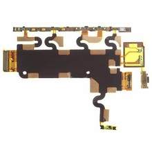 Original New For Sony for Xperia L39H Z1 C6902 C6903 Power on off switch Volume control side button main big flex ribbon cable