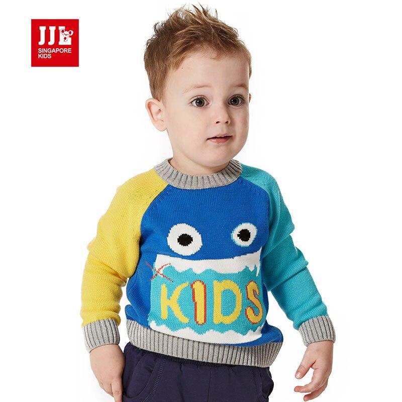 baby boys sweater children s clothing cotton sweater baby boys sweater funny cartoon pattern for brand