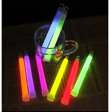 30 PCS 6inch Concert Wilderness Glow Stick Fluorescent Multifunction Survival Camping Emergency Lights Glowtick