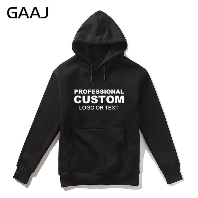 High Quality 3XL Men Custom Hoodie Printing Embroidery Logo Name Diy Hooded  Hoodies Zipper Women s Sweatshirt bc78a1a1e