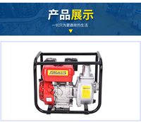 2 дюймов водяной насос, FST 50WP, бензиновый двигатель 5.5HP, алюминиевый насос, железа, прочный насос,