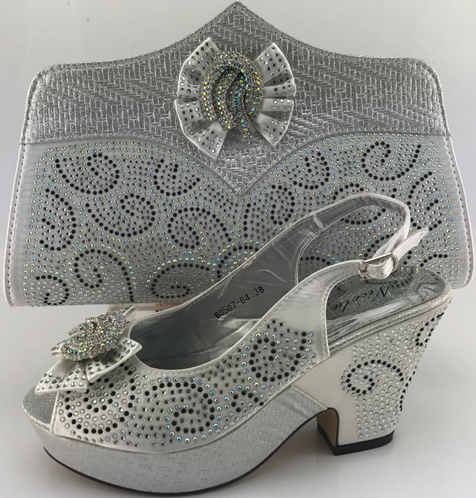 New Design Italian Shoe with Matching Bag Fashion Lattice Pattern Italy Shoe and Bag To Match African Women Shoes for PartyME1-7 new design italian shoe with matching bag fashion italy shoe and bag to match african women shoes for party size 37 43 hs001