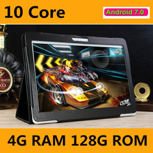 10 Core tablet 10 pulgadas tablet Deca Core 4 GB RAM 128 GB ROM 4G LTE FDD 1920×1200 IPS de $ number MEGAPÍXELES de Doble Tarjeta SIM Tablet PC 10.1