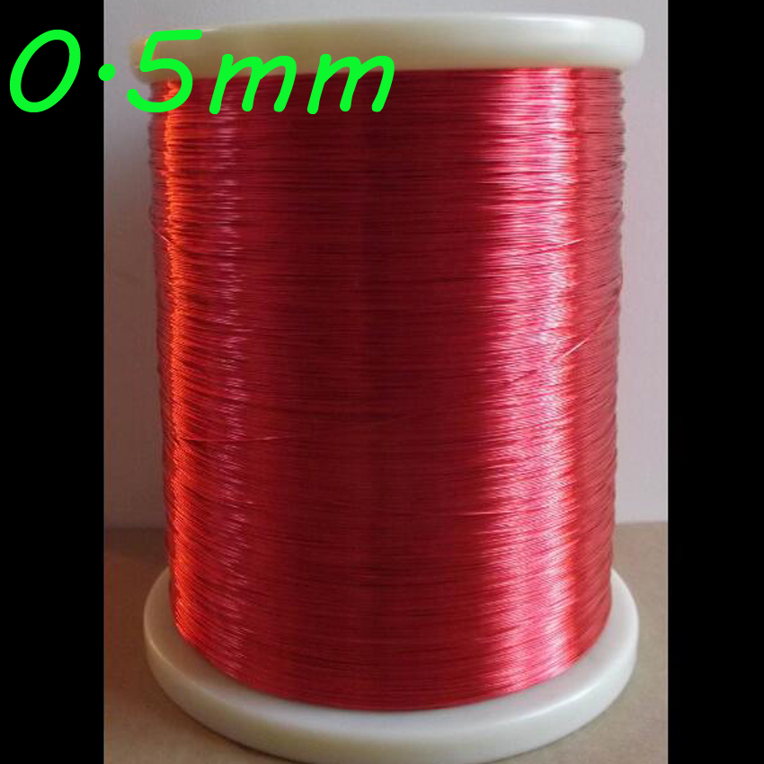 Cltgxdd 0,5mm QA-1-155 2UEW Polyurethan emaillierten Draht Kupfer Draht Rot